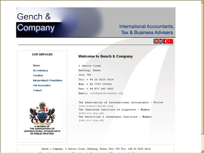 Gench Company website